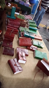 Leather Journals at DBF