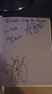 Autographed Dr. Nbook 96