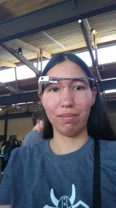 Pics or it didn't happen: Me in Google Glass (the first set)