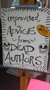 Improvised advice from dead authors