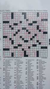 LA Times Crossword at DBF 2014